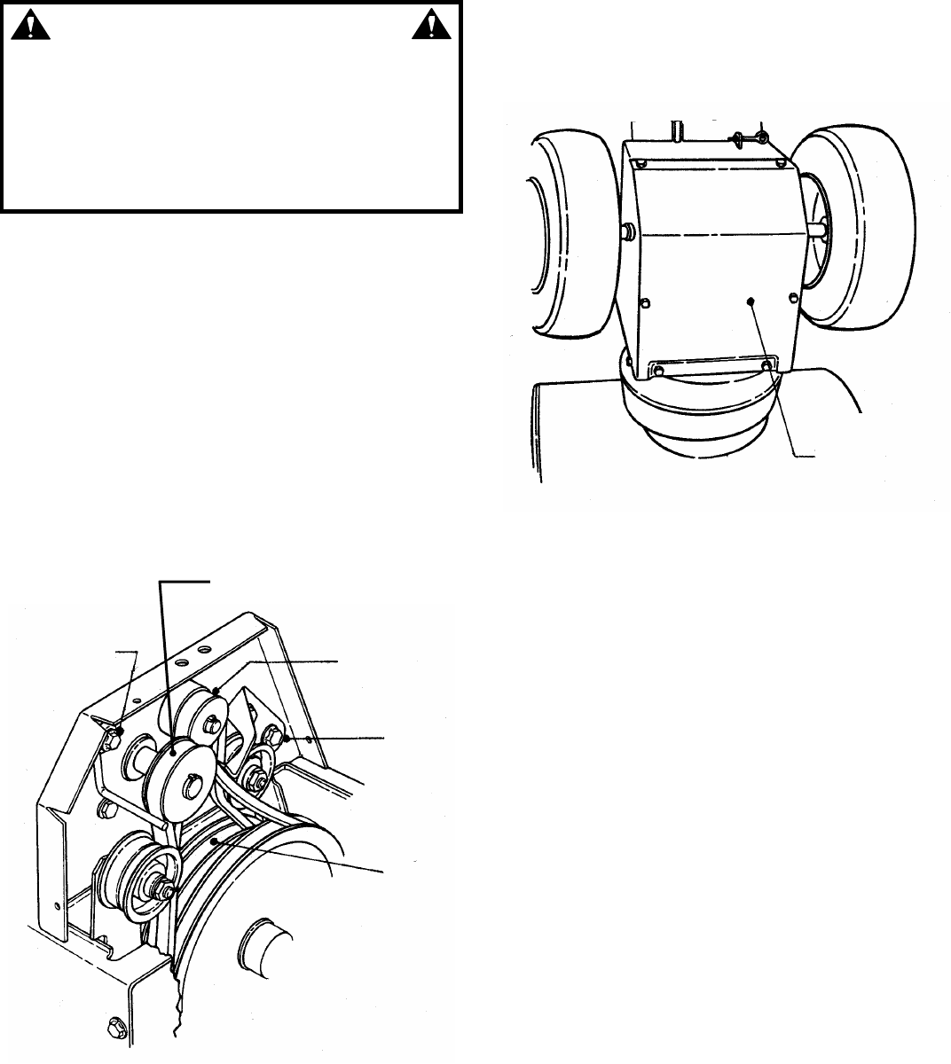 Page 14 of Snapper Snow Blower I55223, I7243 User Guide