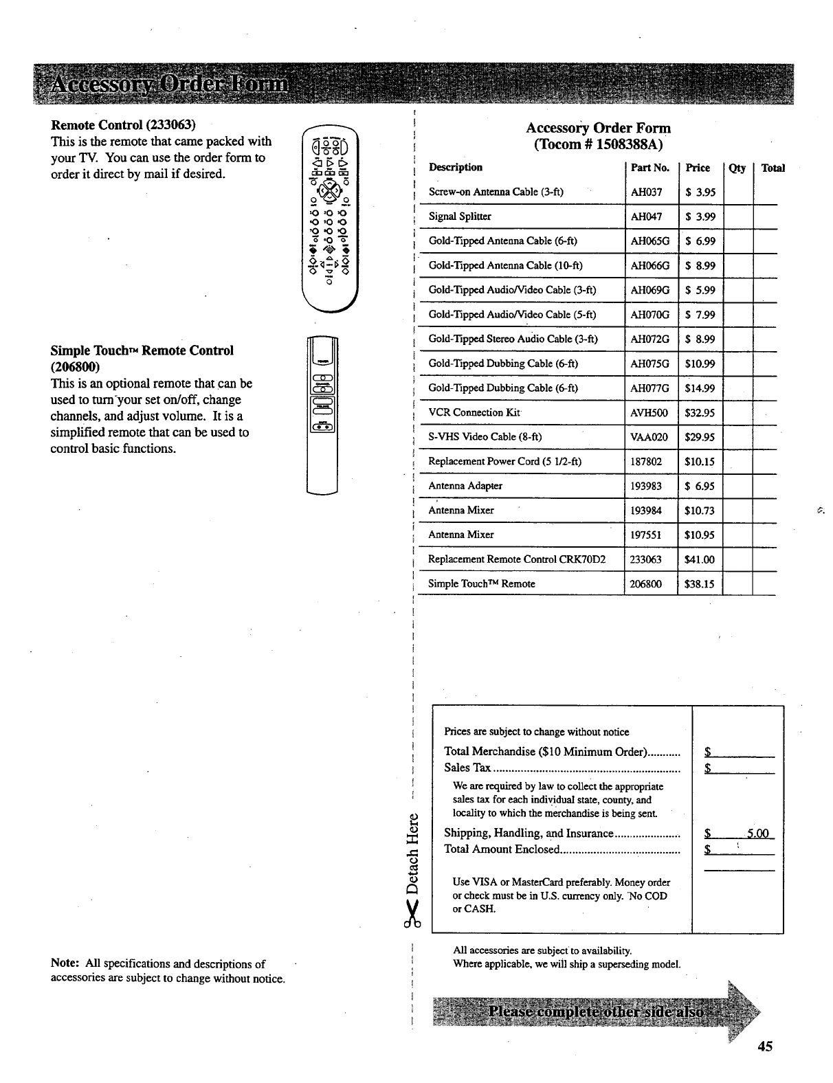 Page 47 of RCA CRT Television P52730 User Guide