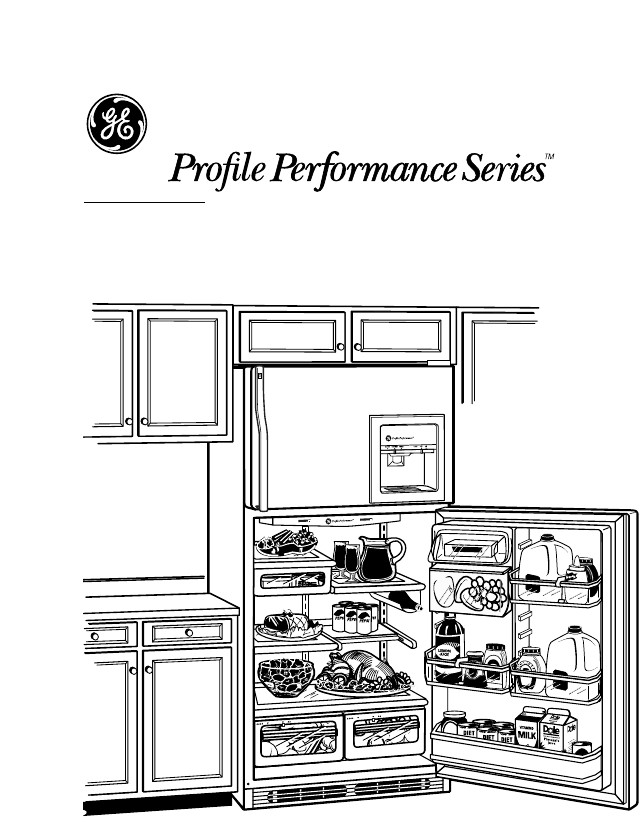 Page 2 of GE Refrigerator TNX22PRCCC User Guide