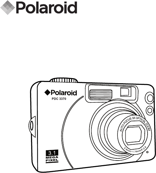 Polaroid Digital Camera PDC 3370 User Guide