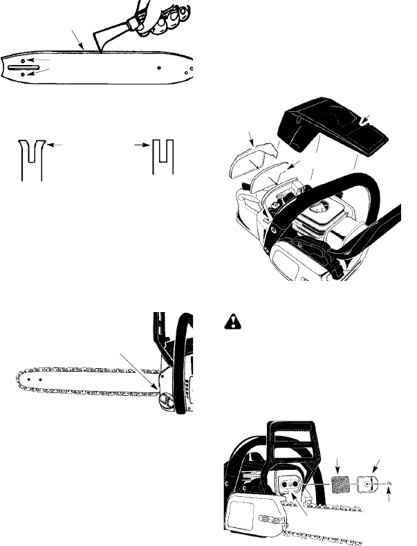 Page 15 of Poulan Chainsaw P3314, P3314WS, P3314WSA, P3416
