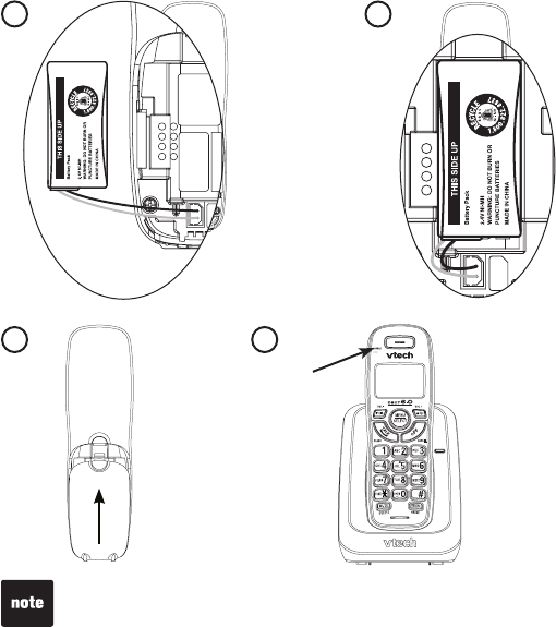 Page 6 of VTech Telephone CS6114-2 User Guide