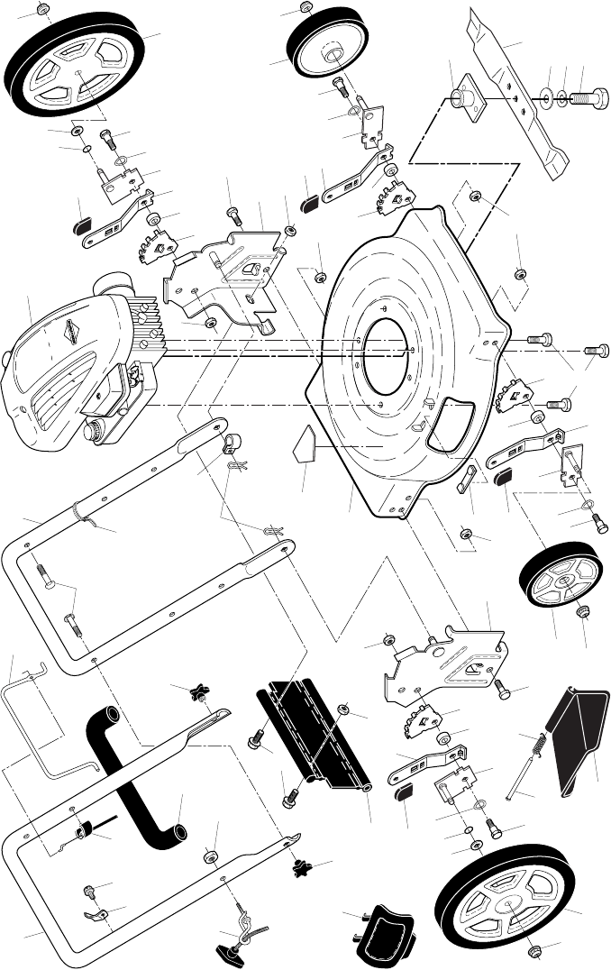 Page 2 of Poulan Lawn Mower 961140016 User Guide