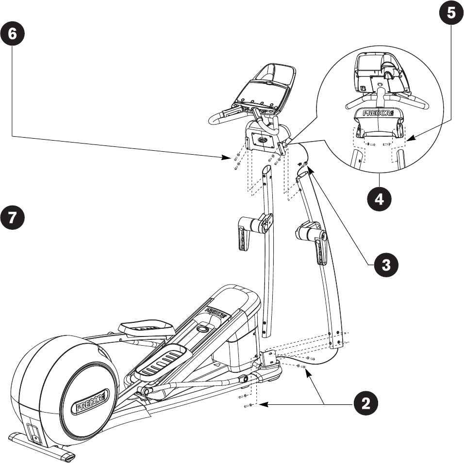Page 65 of Precor Elliptical Trainer EFX 546i User Guide
