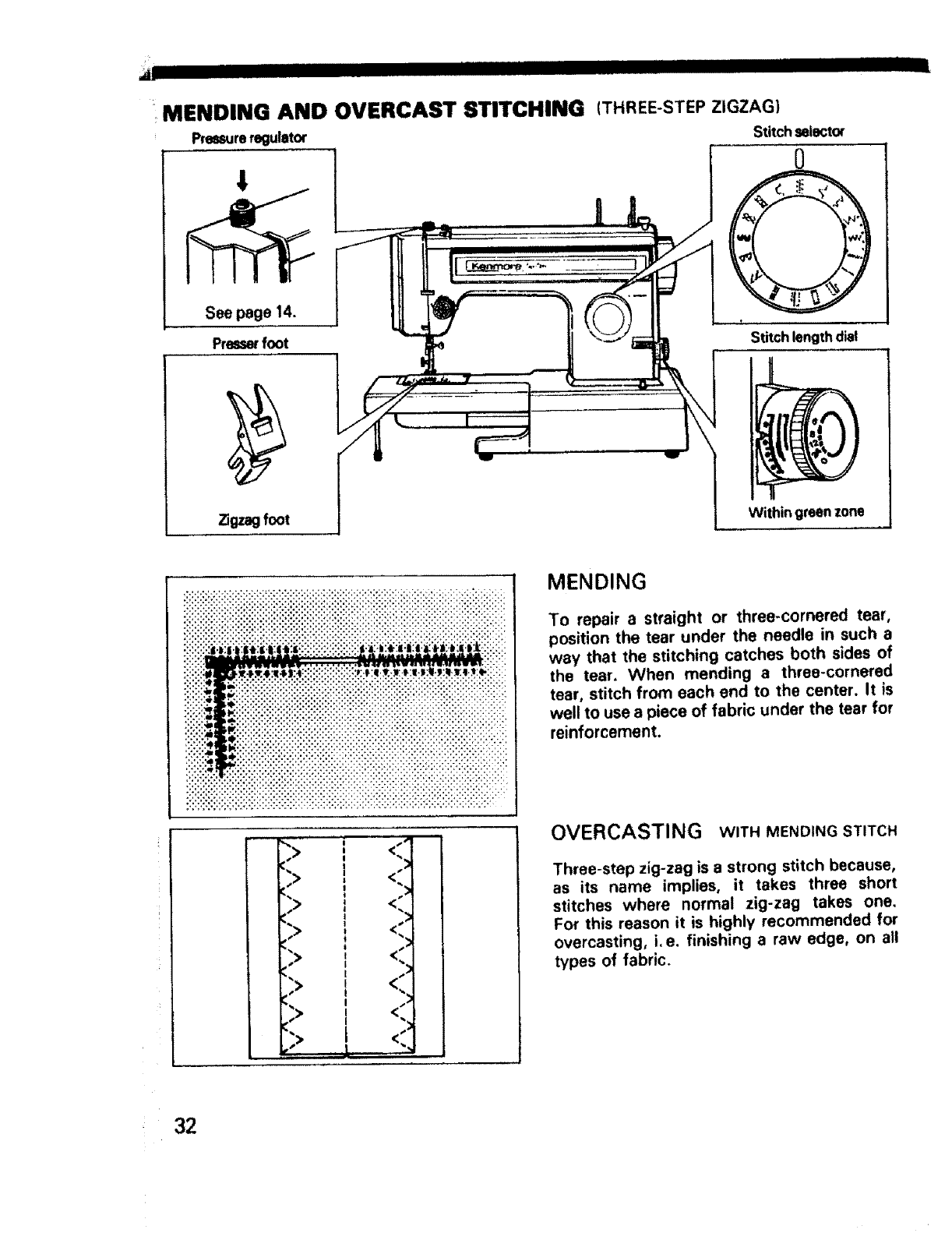 Page 33 of Sears Sewing Machine 1350 User Guide