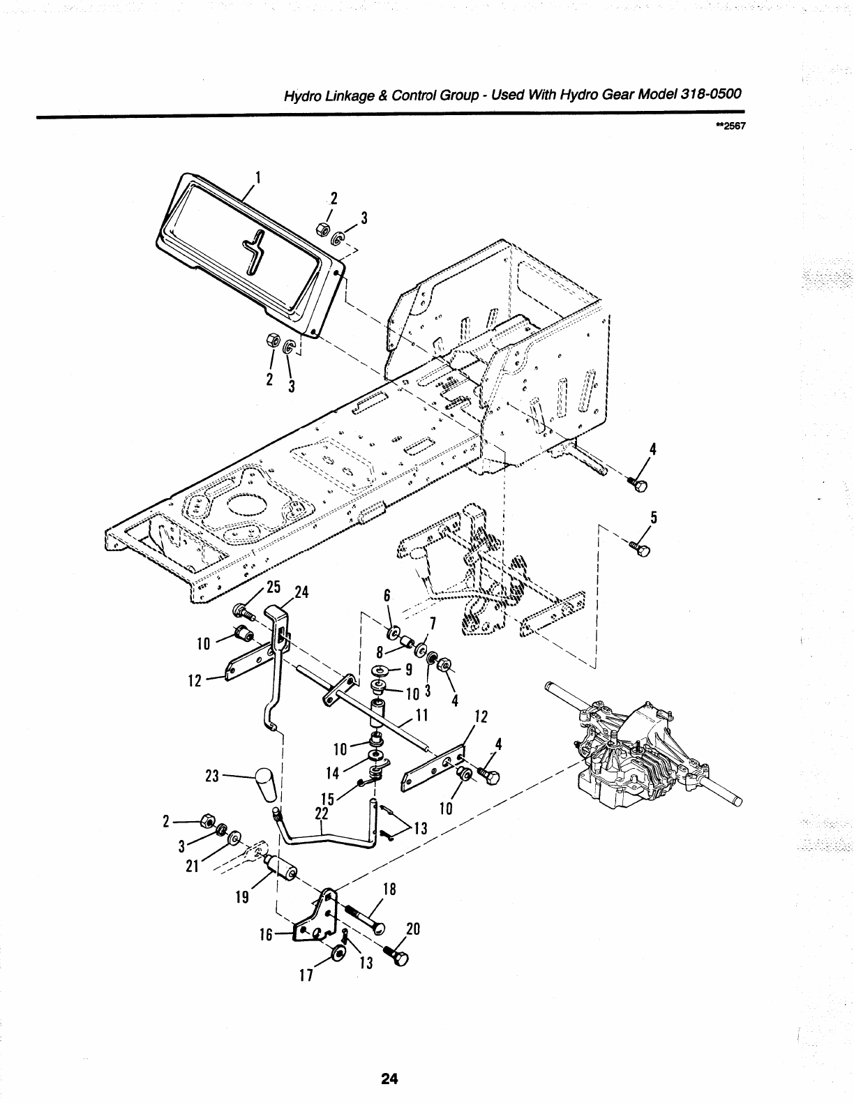 Page 26 of Simplicity Lawn Mower 1692259 User Guide
