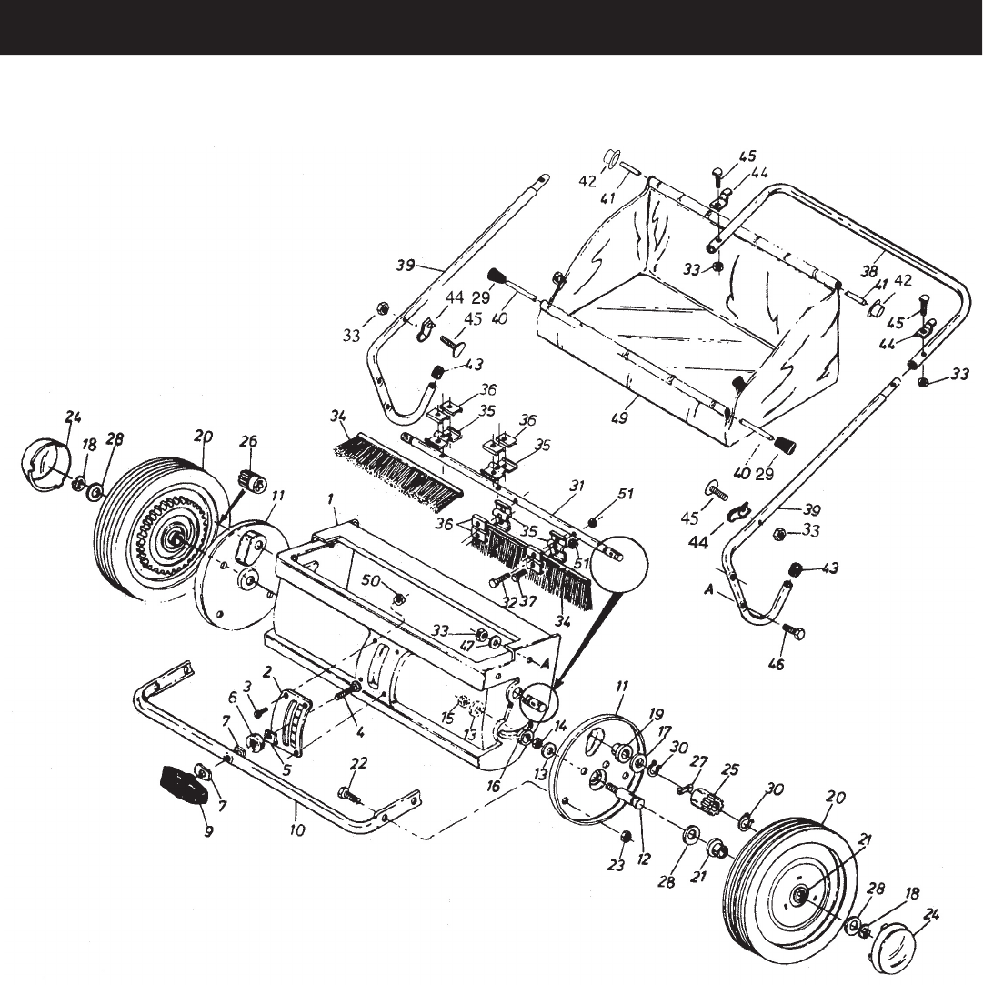 Page 8 of Craftsman Lawn Sweeper 486.240362 User Guide