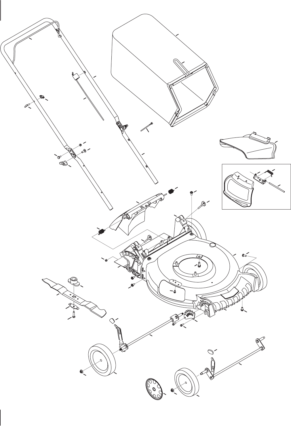 Page 4 of Troy-Bilt Lawn Mower TB130 User Guide