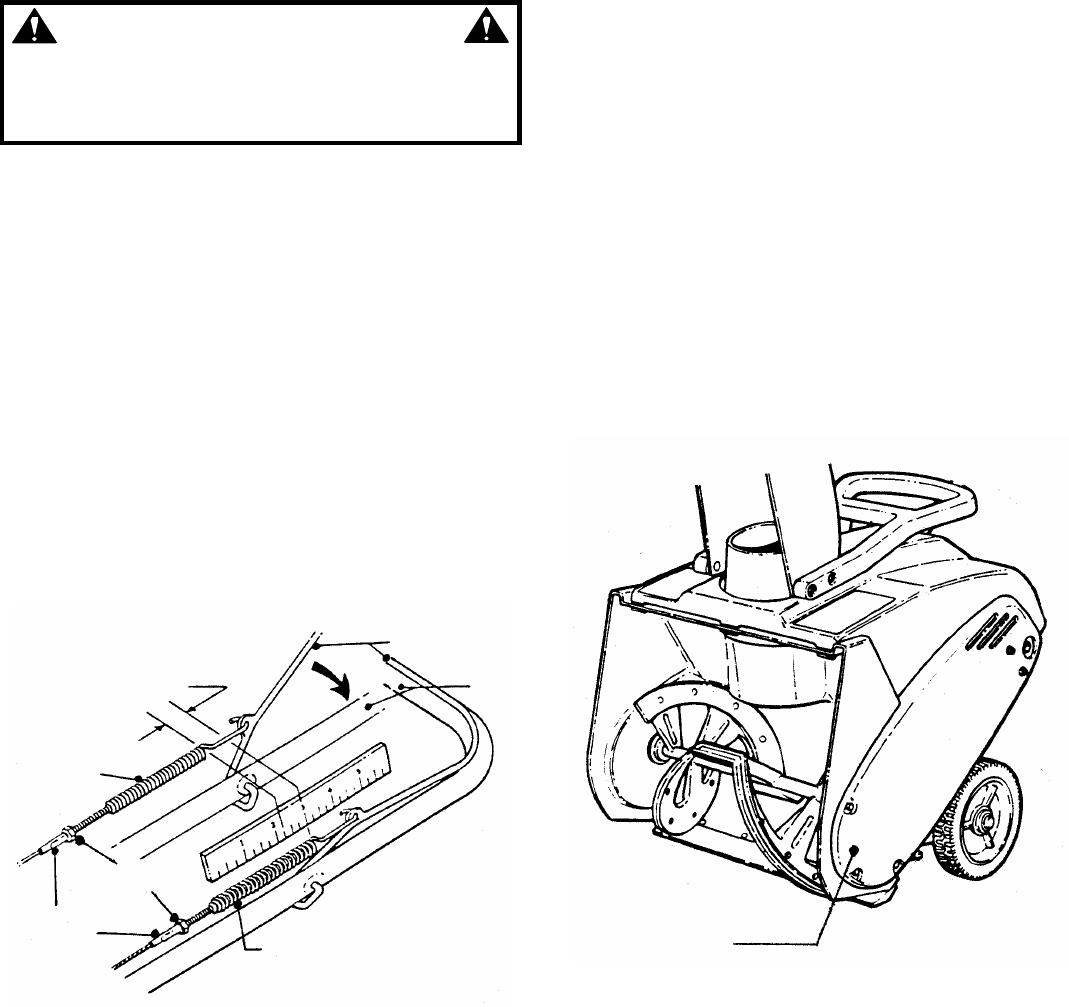 Page 11 of Snapper Snow Blower LE3170R, LE3190R, LE3190E