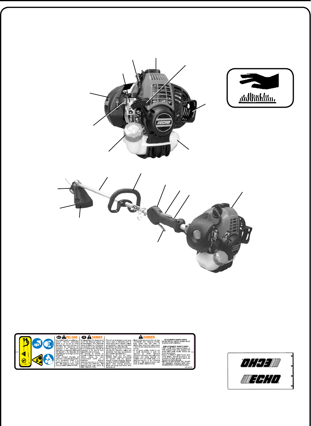 Page 7 of Echo Brush Cutter SRM-265S User Guide