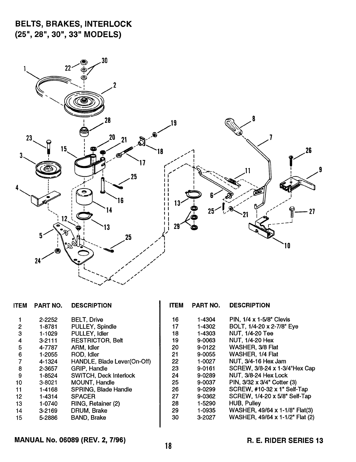 Page 18 of Snapper Lawn Mower 13 User Guide