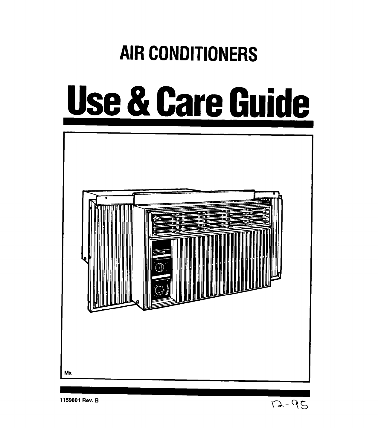 Whirlpool Air Conditioner 1159801 User Guide
