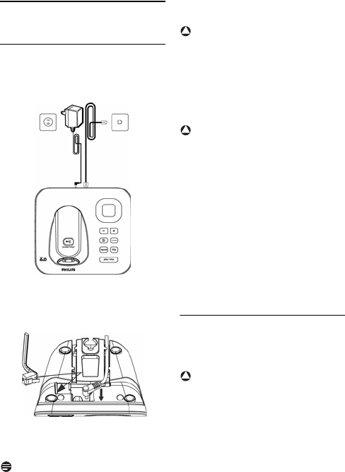 Page 16 of Philips Telephone CD 155 User Guide