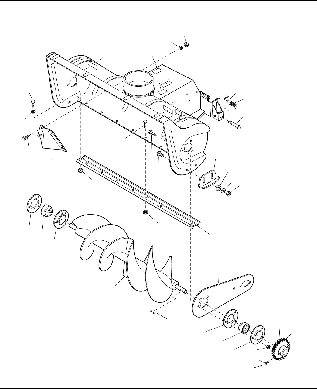 Page 2 of Simplicity Snow Blower Attachment 1694403 User
