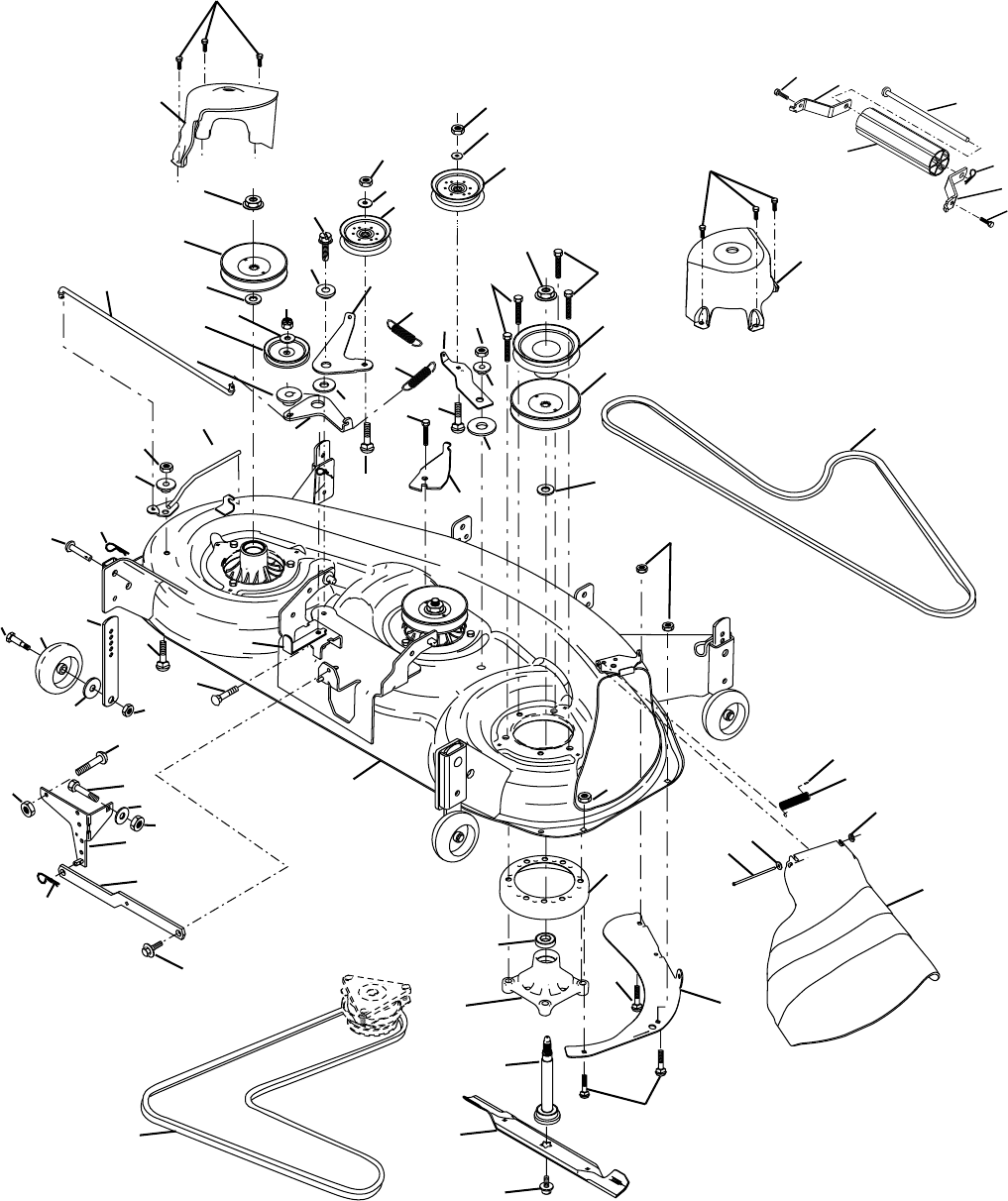 Page 44 of Poulan Lawn Mower 02153 User Guide