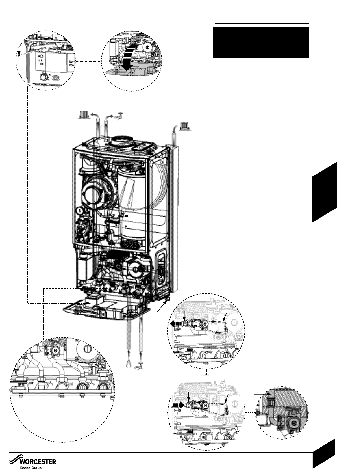 Piping A Combi Boiler Diagram