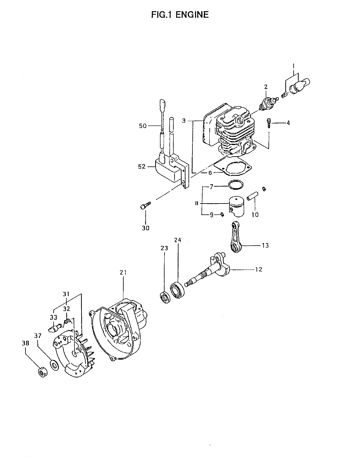 Page 4 of Tanaka Brush Cutter TBC-4501 User Guide