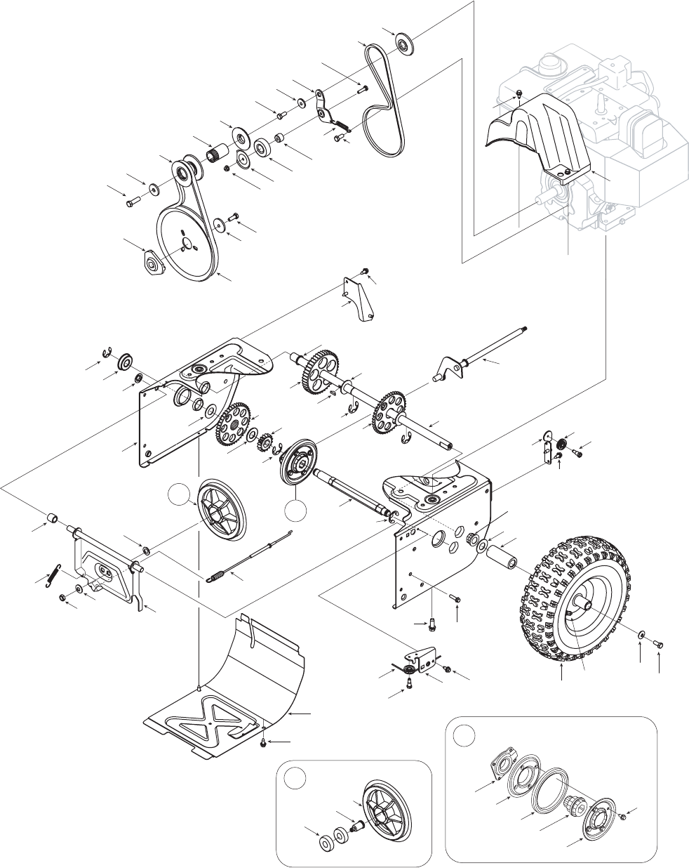 Page 24 of Cub Cadet Snow Blower 600 User Guide