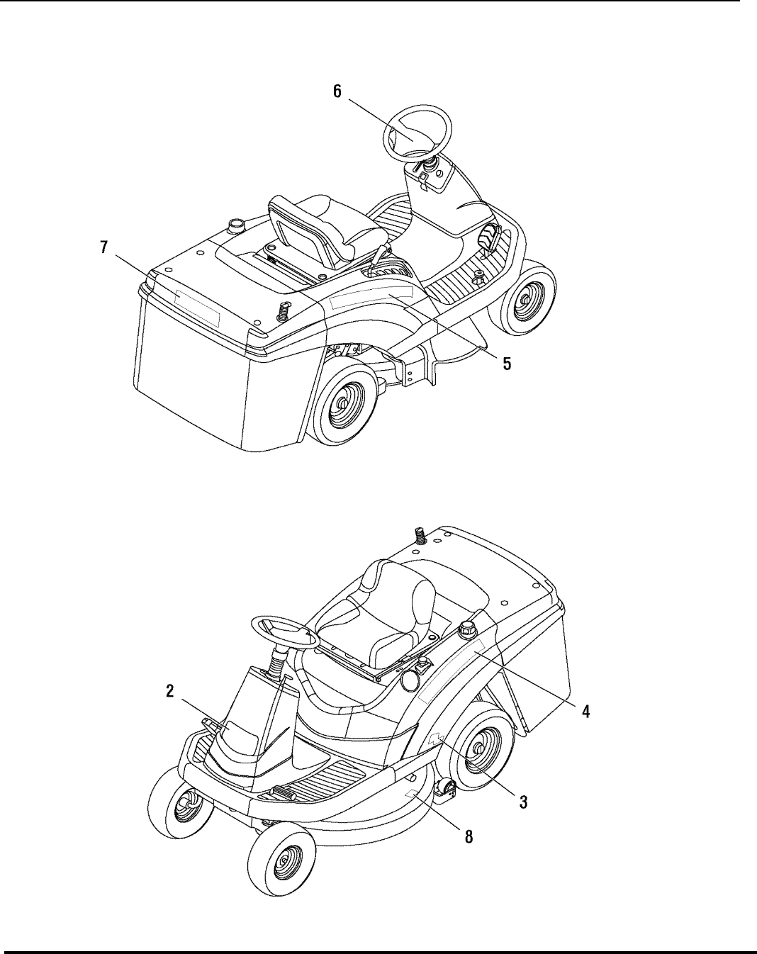 Page 20 of Snapper Lawn Mower LT75 SERIES User Guide
