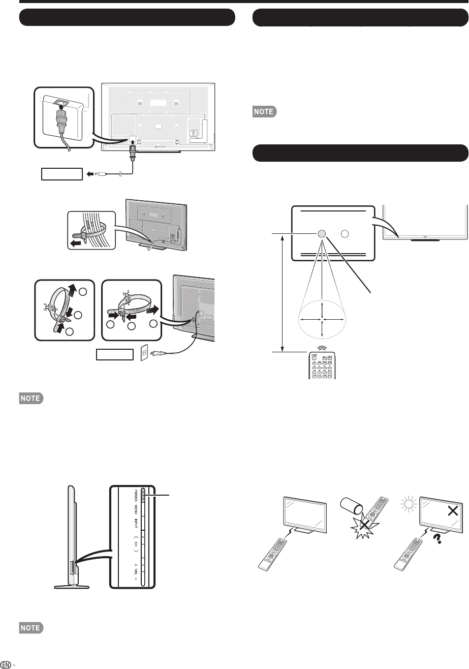 Page 10 of Sharp Flat Panel Television 60LE640U User Guide