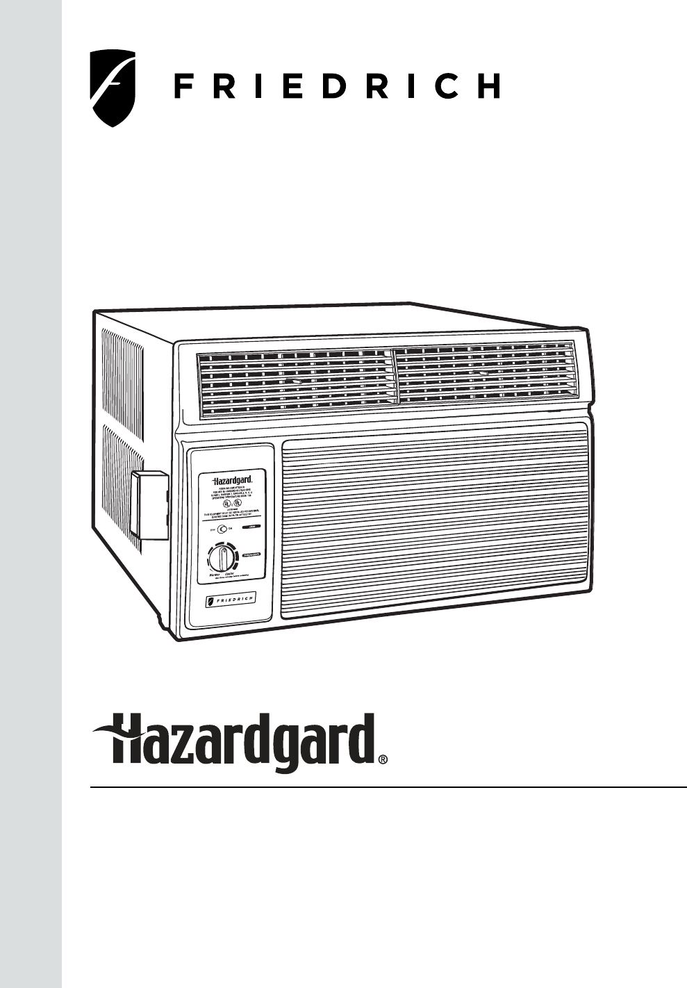 Friedrich Air Conditioner R-410A User Guide