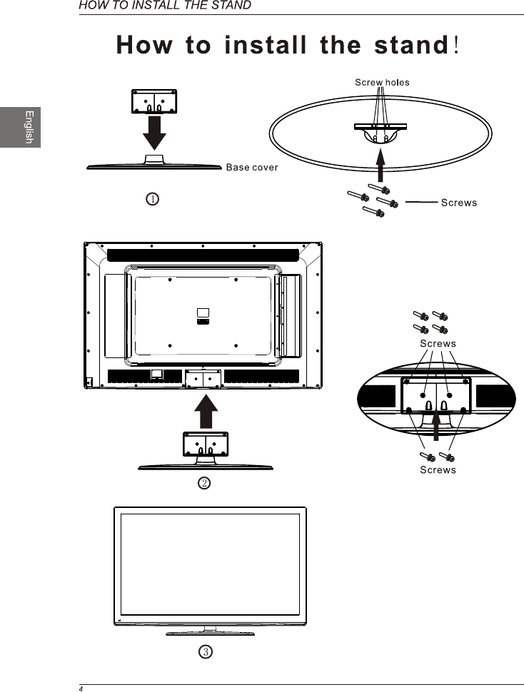 Page 6 of Westinghouse Flat Panel Television VR-6090Z User