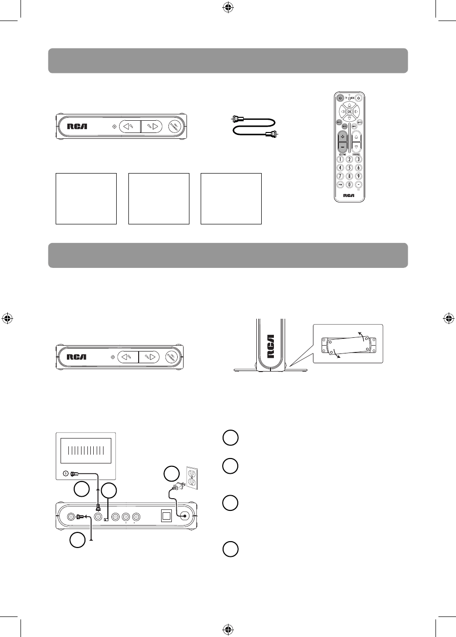 Page 4 of RCA TV Converter Box B-008ATD User Guide