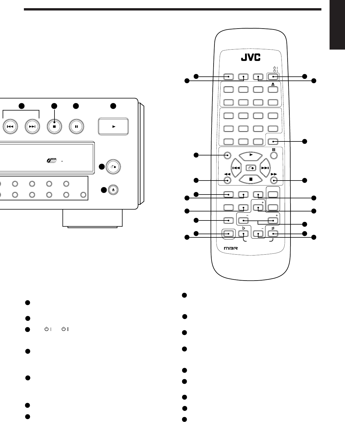 Page 8 of JVC CD Player XL-FV323TN User Guide