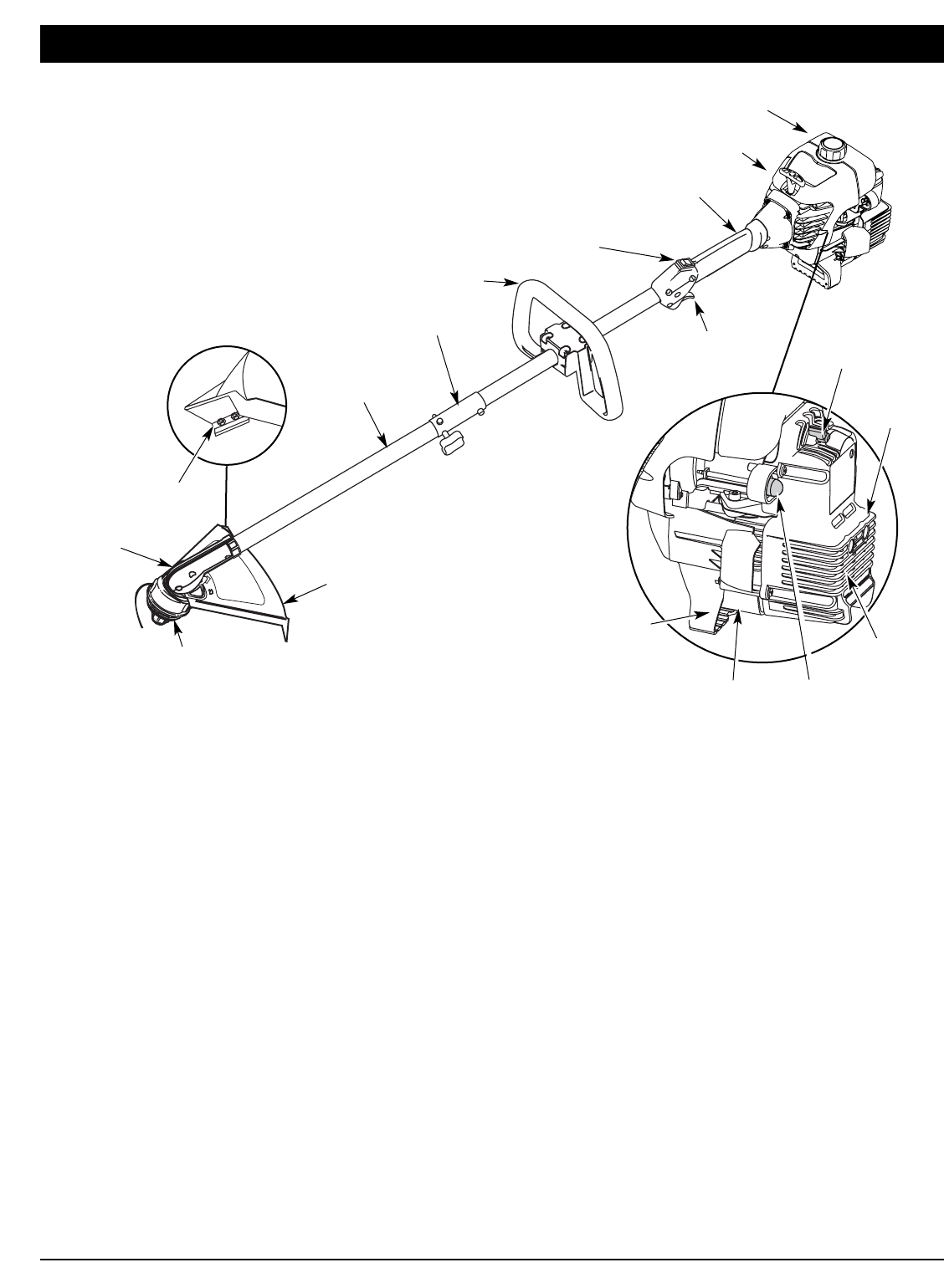 Page 4 of Yard-Man Trimmer YM70SS User Guide