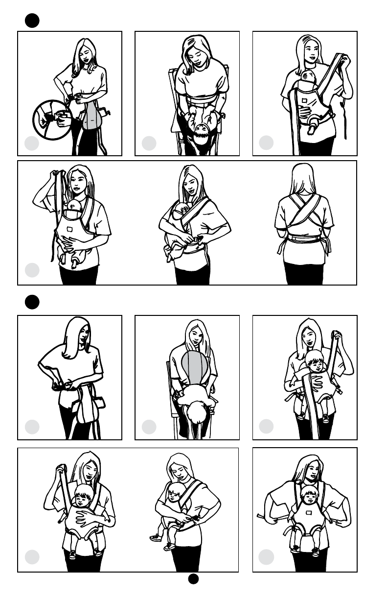 Page 9 of Munchkin Baby Carrier 18009T User Guide