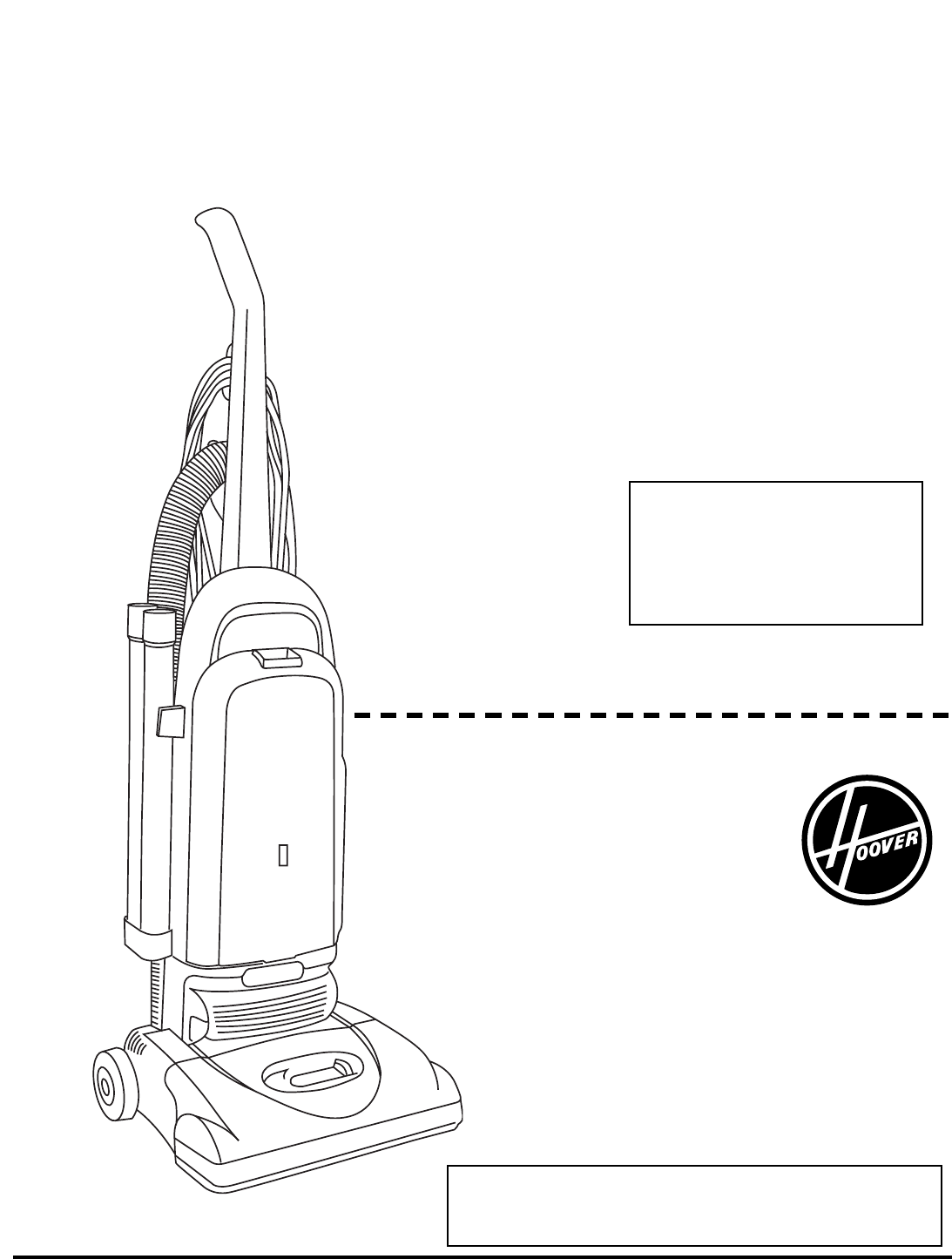 Hoover Vacuum Cleaner Bagged Tempo Upright Vacuum Cleaner