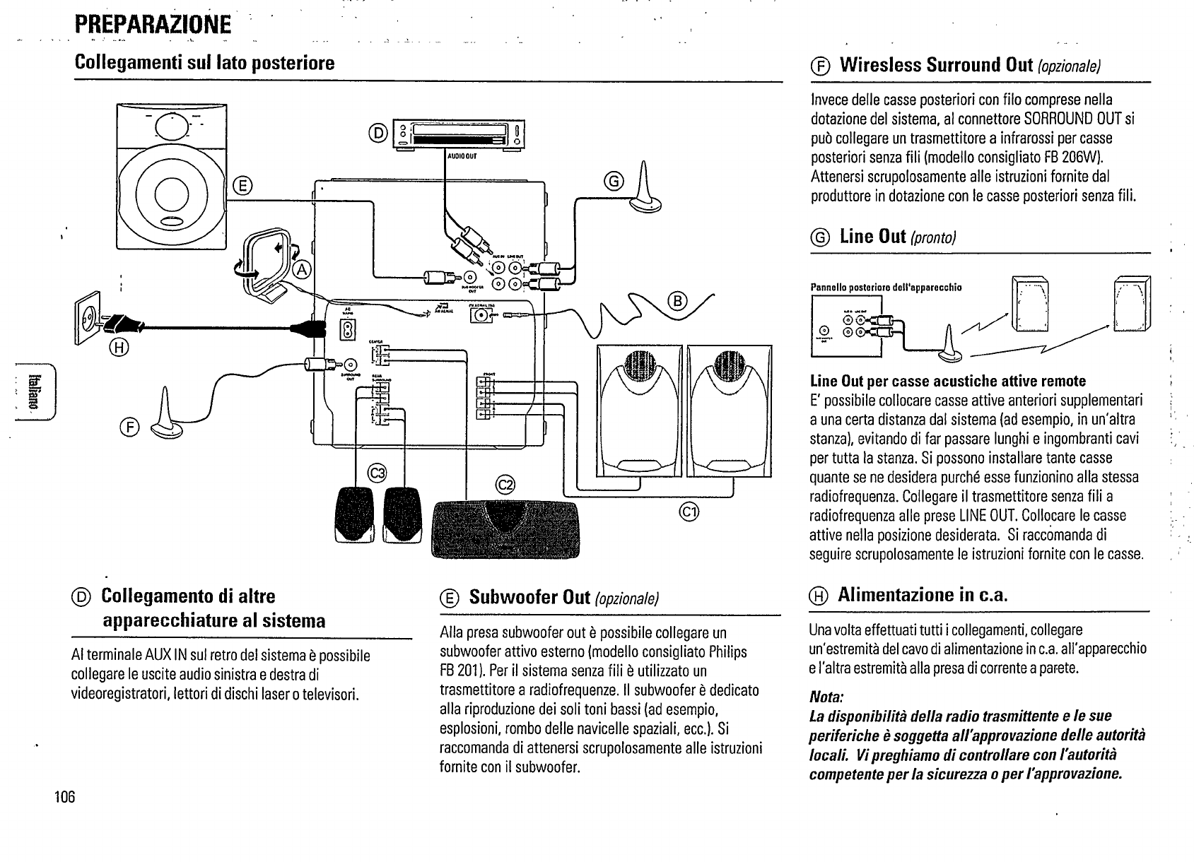 Page 6 of Philips Stereo System FW375P User Guide