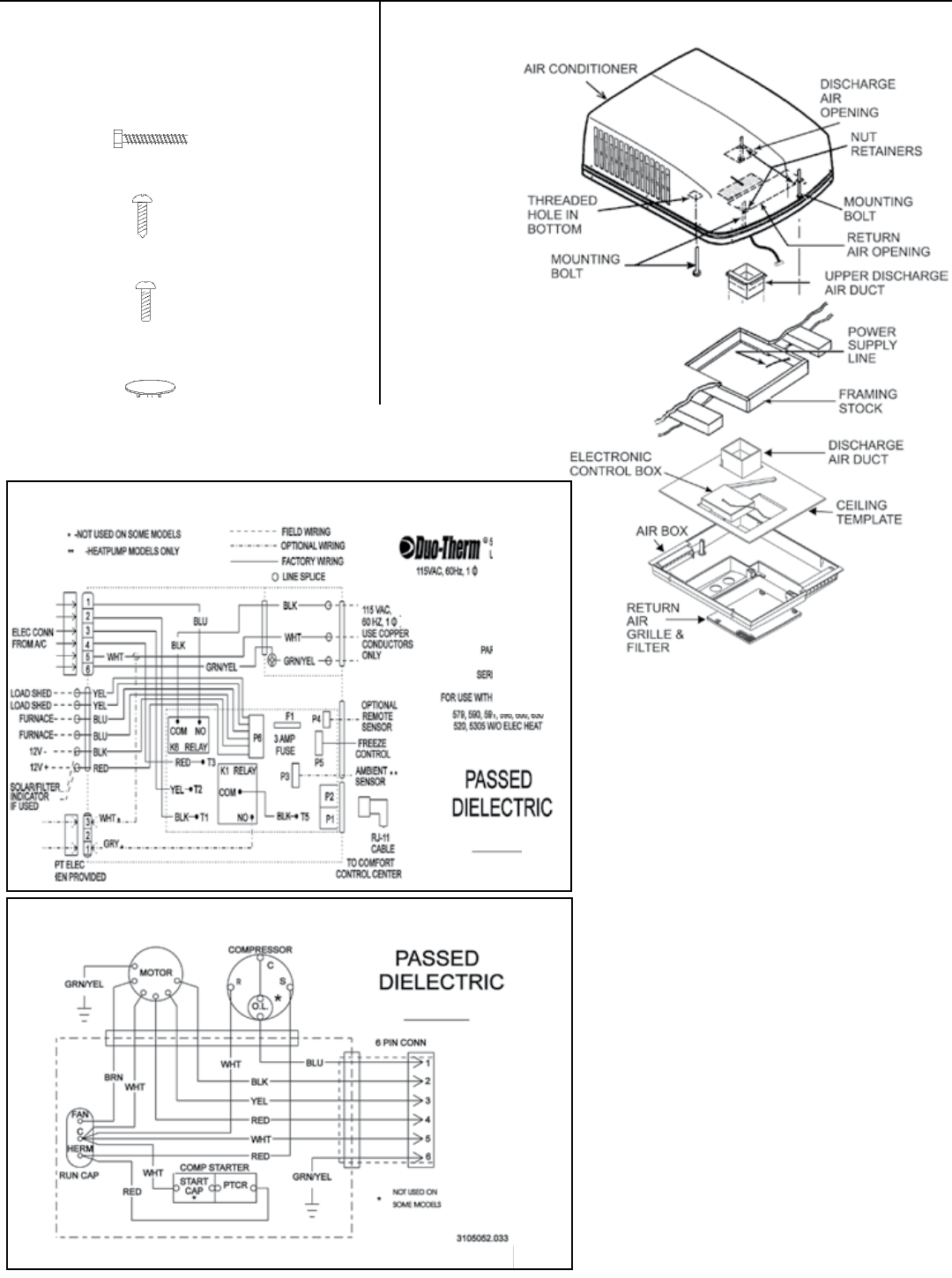 Page 12 of Dometic Air Conditioner 579 SERIES User Guide