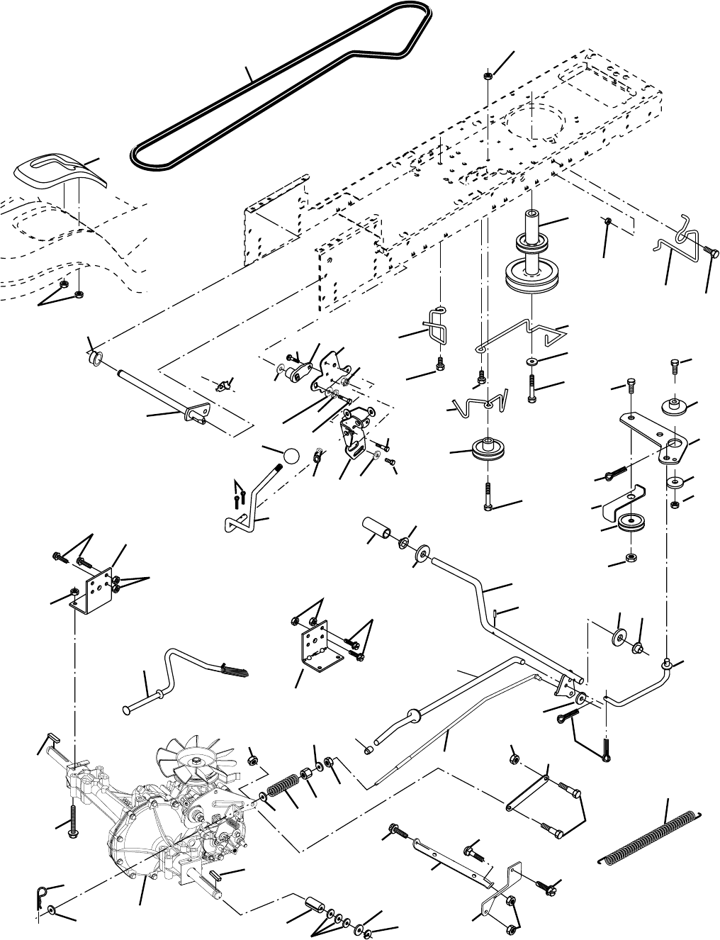 Page 32 of Husqvarna Lawn Mower LTH2042 User Guide