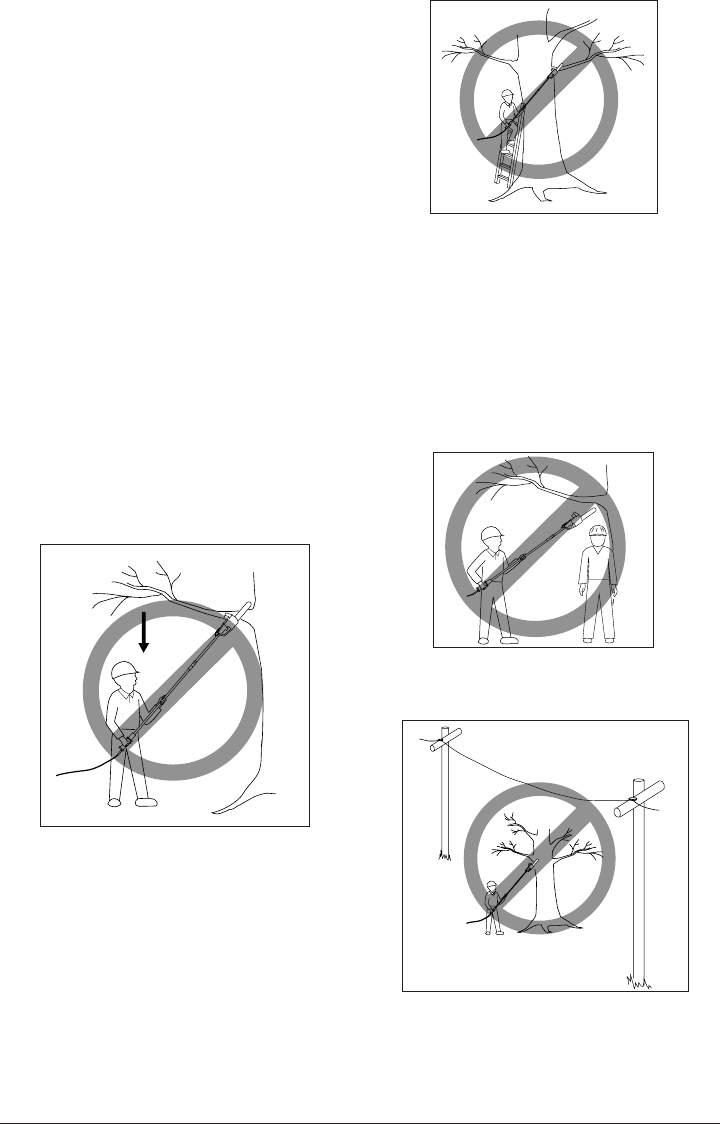 Page 11 of Remington Pole Saw 106821 User Guide
