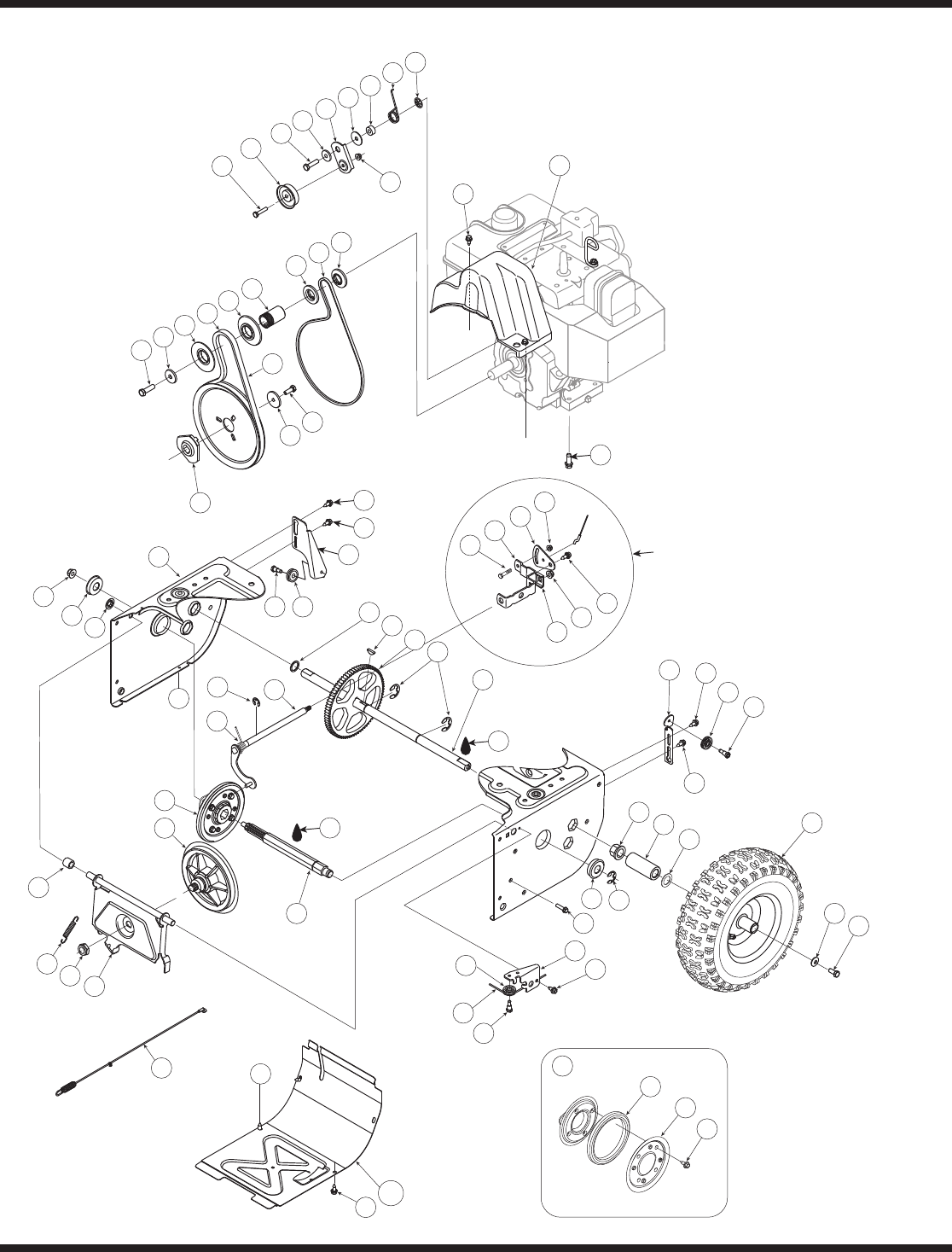 Page 24 of Bolens Snow Blower MTD User Guide