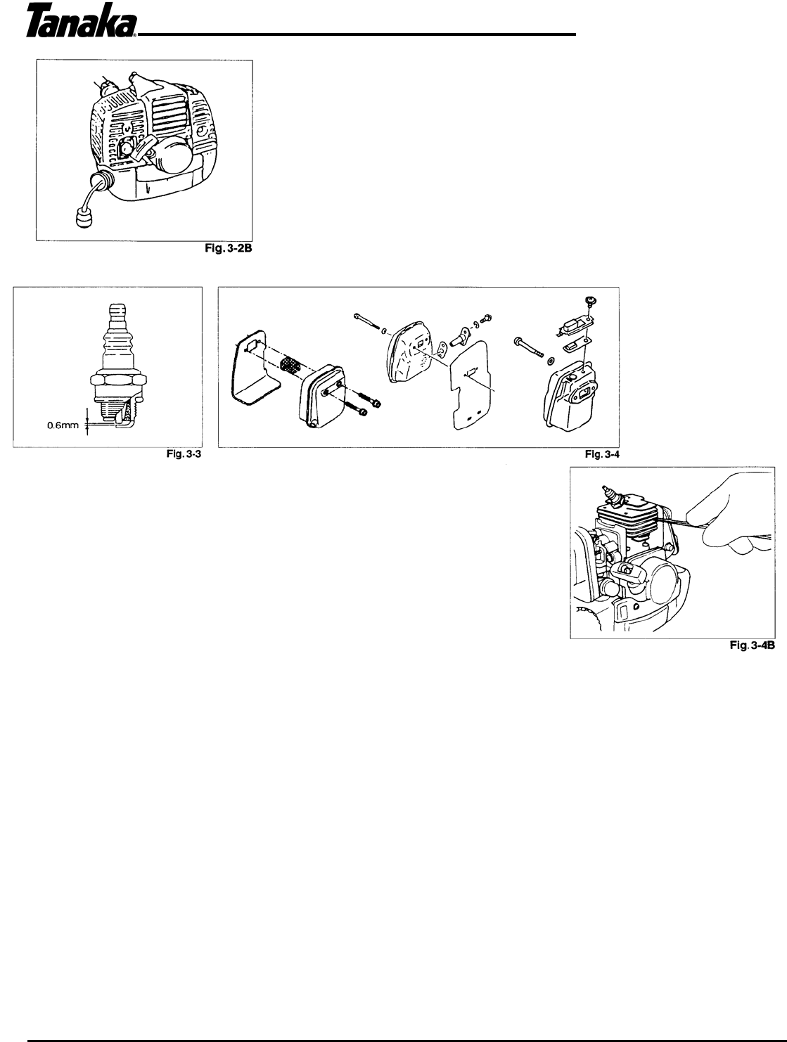 Page 14 of Tanaka Brush Cutter TBC-2501 User Guide