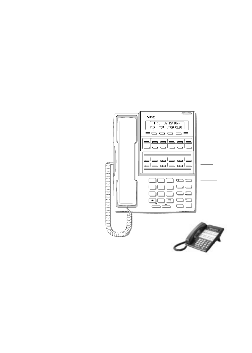 Page 2 of NEC Telephone DS1000/2000 User Guide