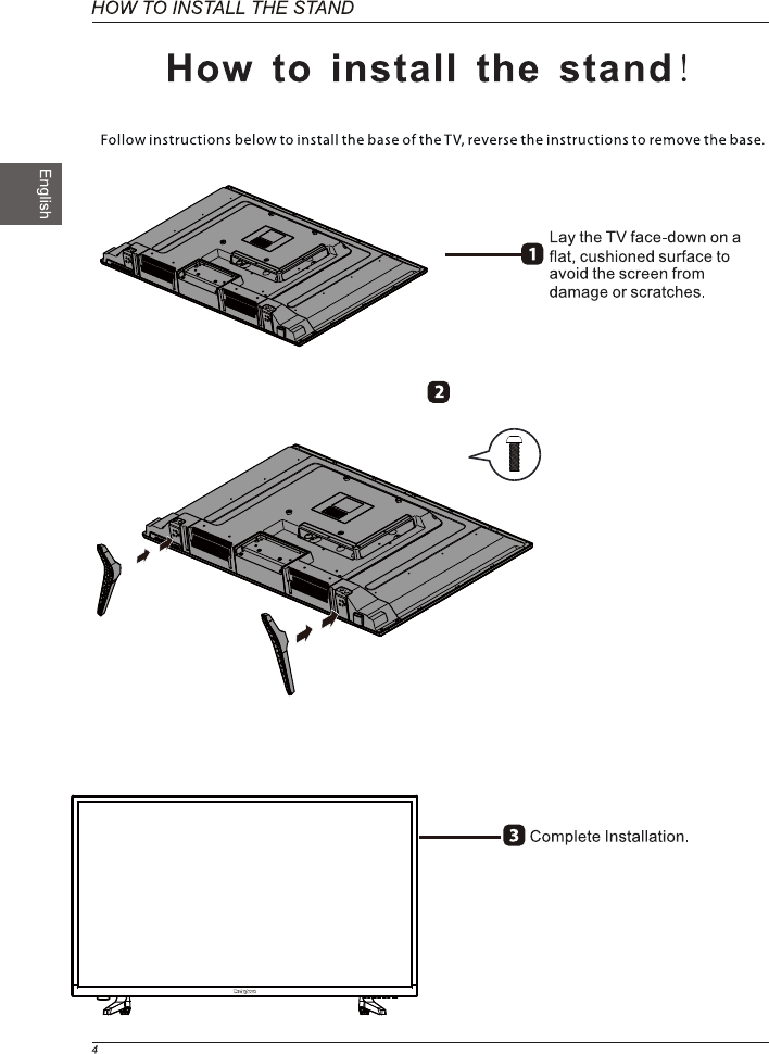 Page 5 of Westinghouse Flat Panel Television WD40FX1450