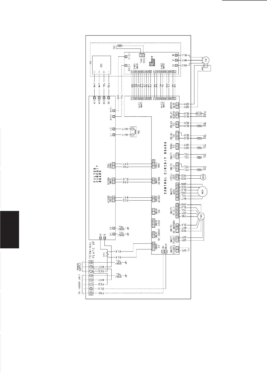Page 134 of Sanyo Air Conditioner KH3672R / CH3672R User