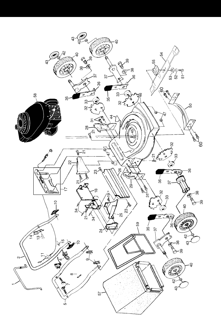 Page 2 of Poulan Lawn Mower P4TN20RA User Guide