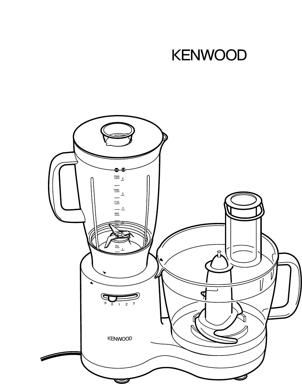 kenwood mixer manual