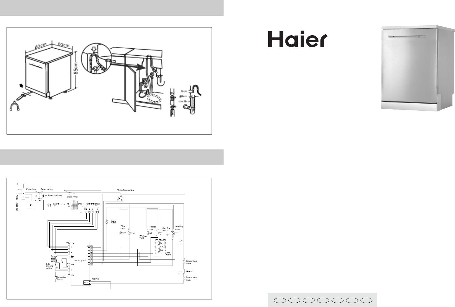haier appliance wiring diagrams