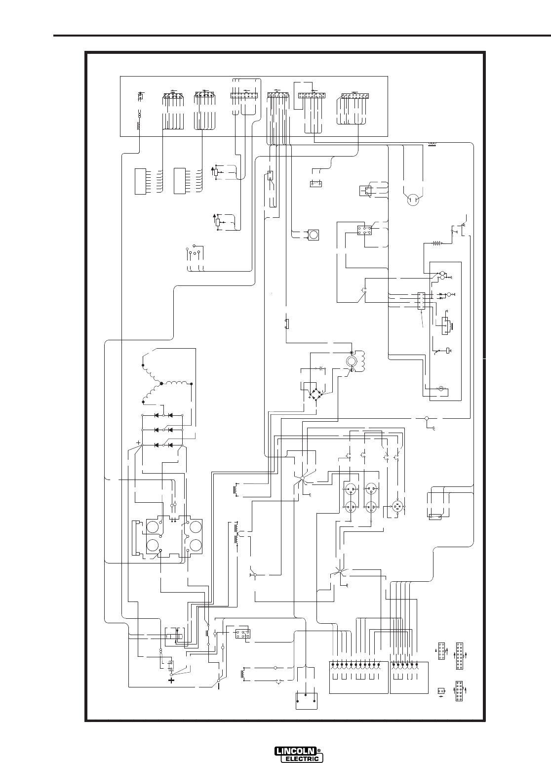 Lincoln 225 Arc Welder Wiring Diagram Lincoln Electric AC 225 S – Lincoln 225 S Wiring Diagram