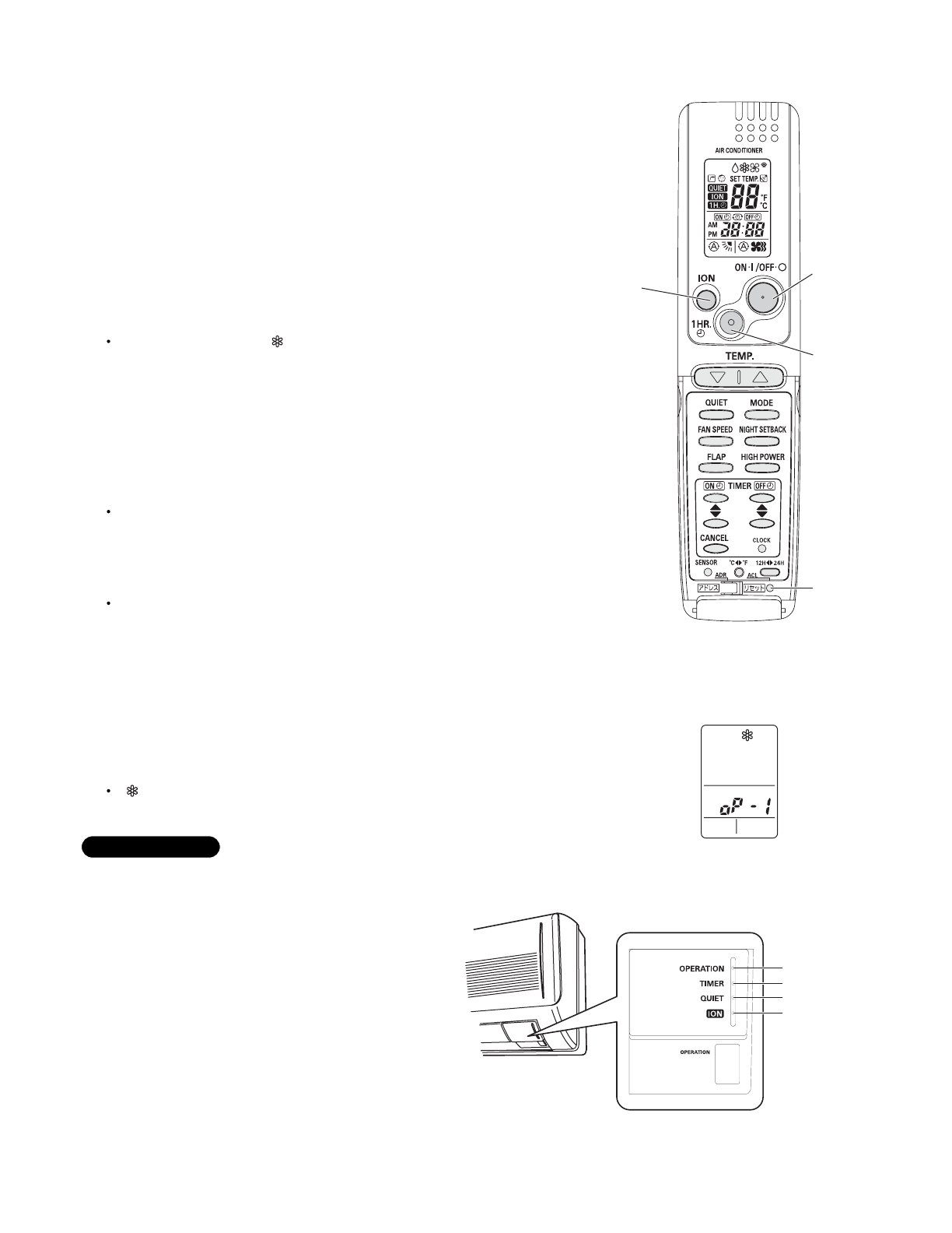 Page 41 of Sanyo Air Conditioner C2472 User Guide