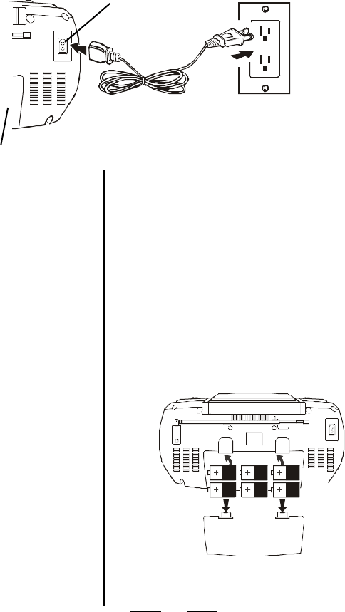 Page 5 of Lenoxx Electronics CD Player CD-102 User Guide