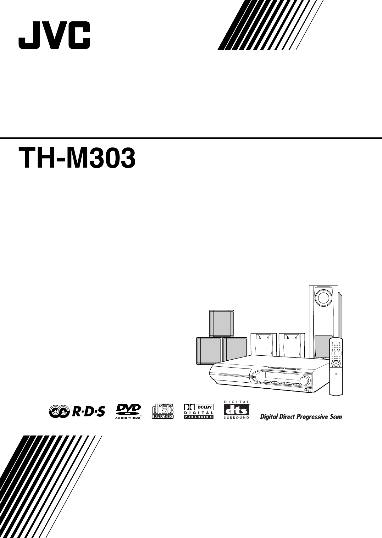 JVC Home Theater System XV-THM303 User Guide