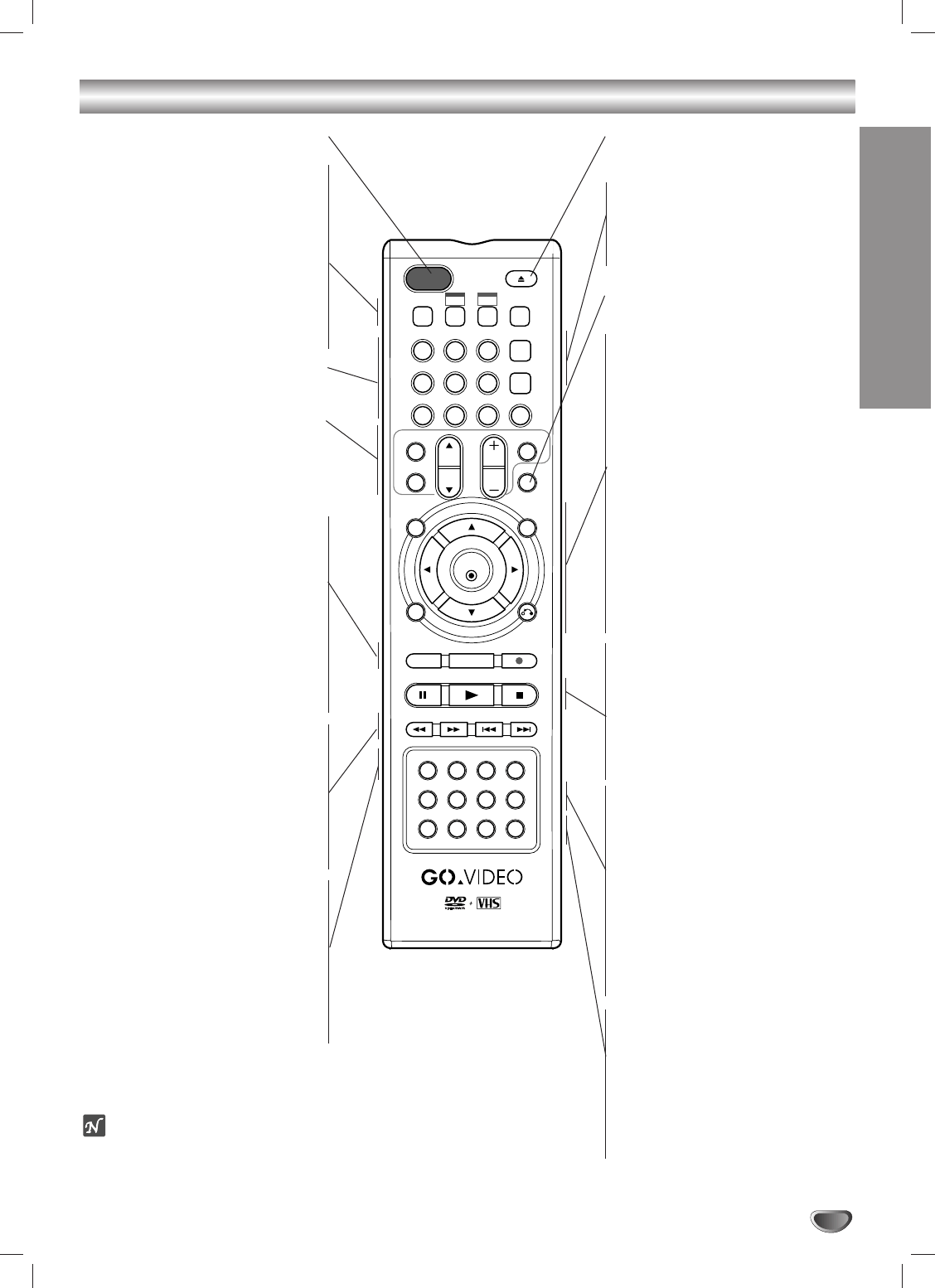 Page 13 of Go-Video DVD VCR Combo VR3840 User Guide
