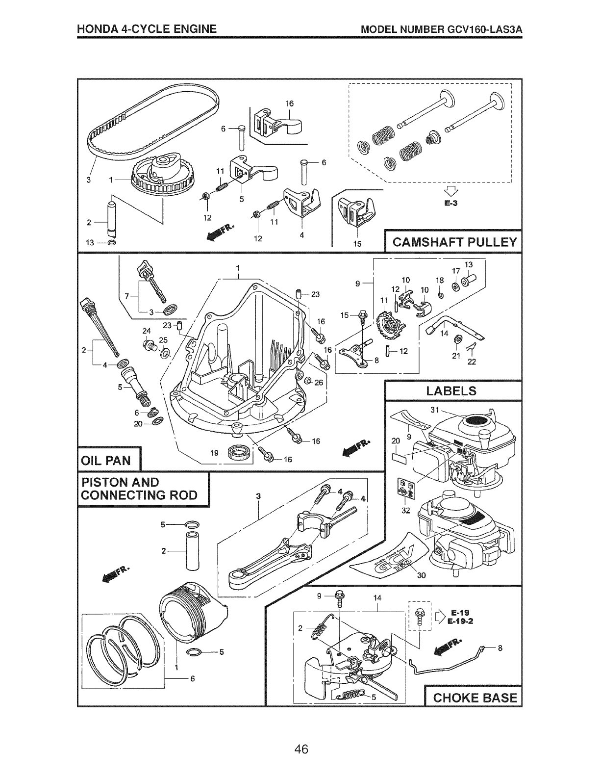Page 46 of Craftsman Lawn Mower Gcv160 User Guide