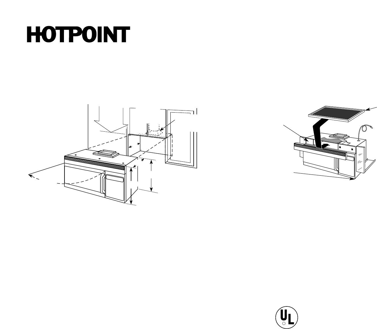Hotpoint Microwave Oven RVM1335WC User Guide